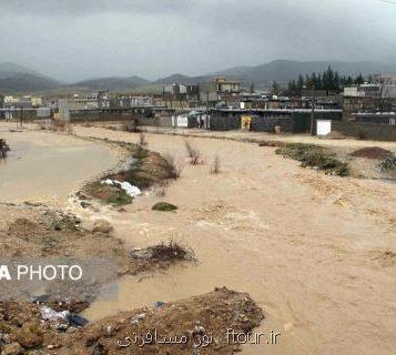 خسارت به بناهای تاریخی سه شهر در خراسان رضوی به دنبال بارندگی های اخیر