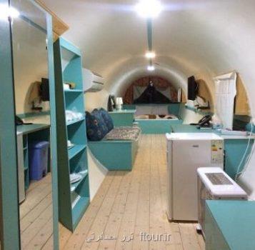 گزارش مهر از معماری جدید هتلها برای جذب گردشگران هتل های عجیب و غریب ایران، از اقامت در زیرزمین تا هتل لوله ای