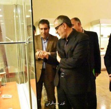 از قیطریه تا چشمه علی در موزه ملی ایران