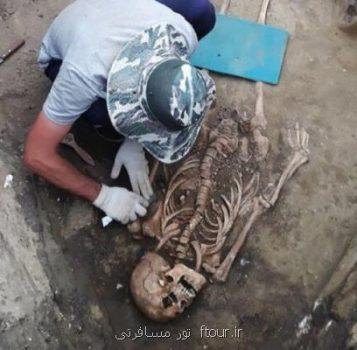 كشف بقایای یك زن باستانی در كنار جواهرات رومی