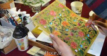 نمایشگاهی از احیای كاشی های قدیمی از صفویه تا قاجار