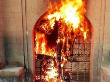 یك فعال میراث فرهنگی خبر داد سوزاندن یك اثر ۳۰۰ ساله توسط افراد ناشناس