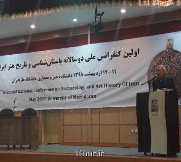 به صورت دوسالانه انجام می گیرد برگزاری نخستین کنفرانس ملی دیرینه شناسی و تاریخ هنر ایران