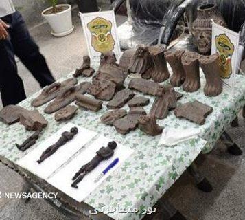 فرمانده یگان حفاظت میراث فرهنگی خوزستان خبر داد: کشف مجسمه مومیایی حین معامله غیرمجاز در دزفول