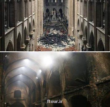 یک ماهگی دو آتش سوزی مهیب از تبریز تا پاریس
