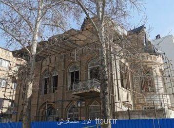 با تسهیلگری شهرداری منطقه ۱۱؛ مرمت خانه تاریخی متین دفتری کلید خورد
