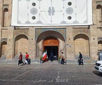 با حضور مونسان؛ باب عالی کاخ گلستان به صورت رسمی بازگشایی شد